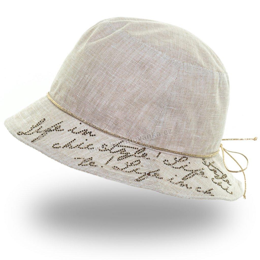 Dámský letní klobouk Krumlovanka 435345 béžový