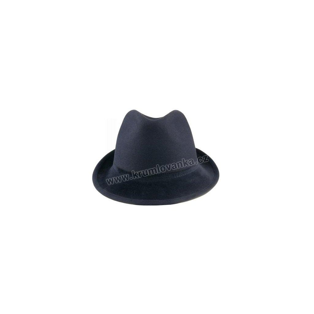 Plstěný klobouk TONAK Trilby Tokyo 21105/15 tmavě modrý  Q 3050