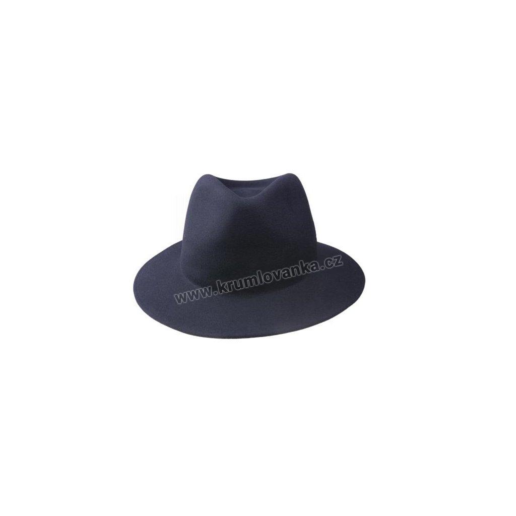 Plstěný klobouk TONAK 10814 tmavě modrý Q 3050
