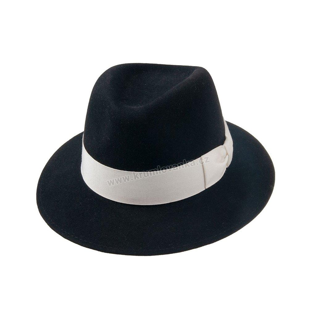 1192315 Q9030 1 pansky plsteny klobouk cerny