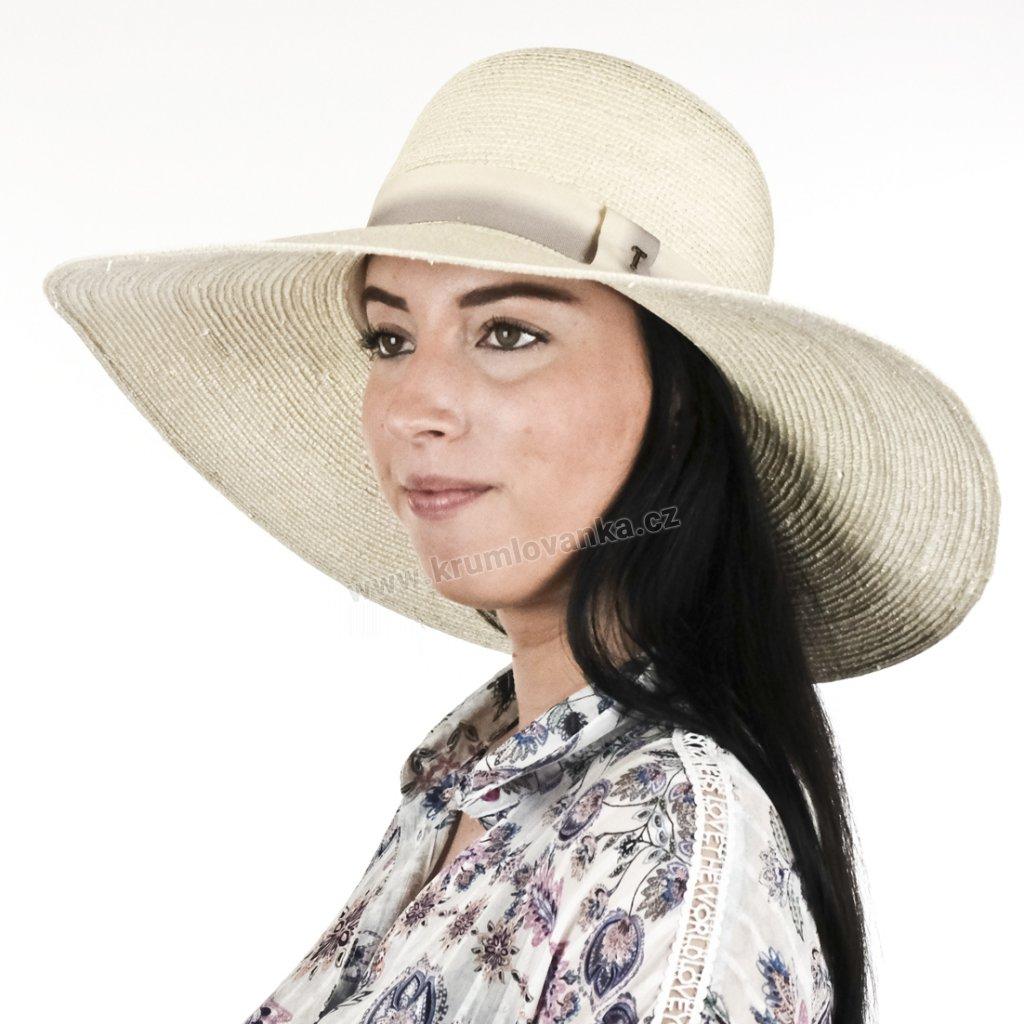 33424 Letní klobouk Brim hat Alegria 35028 natural01