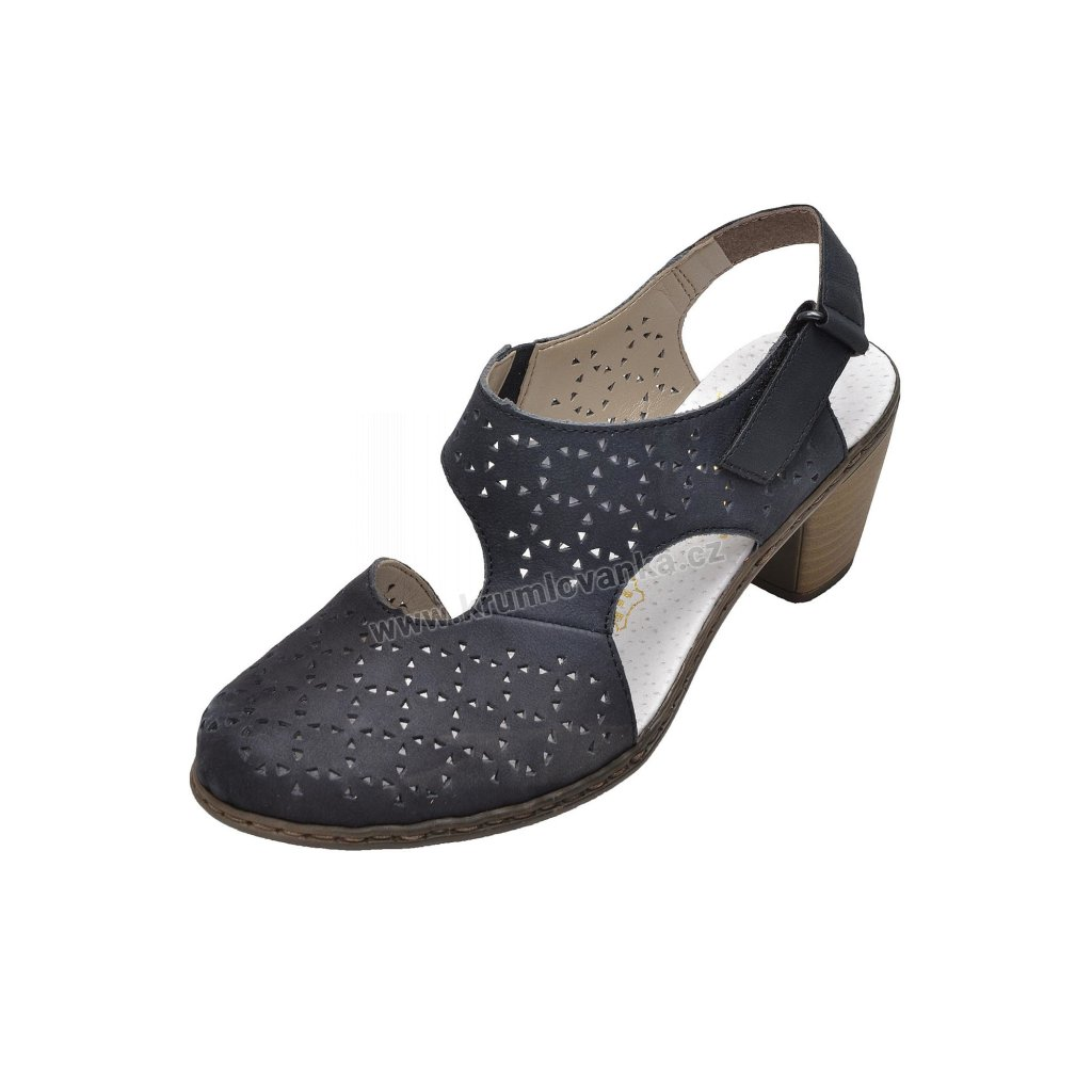 Dámské sandály RIEKER 40979-14 modré