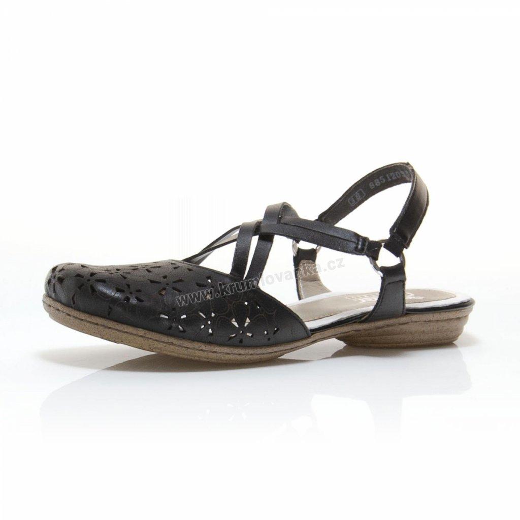 Dámská obuv RIEKER 53996-00 černé
