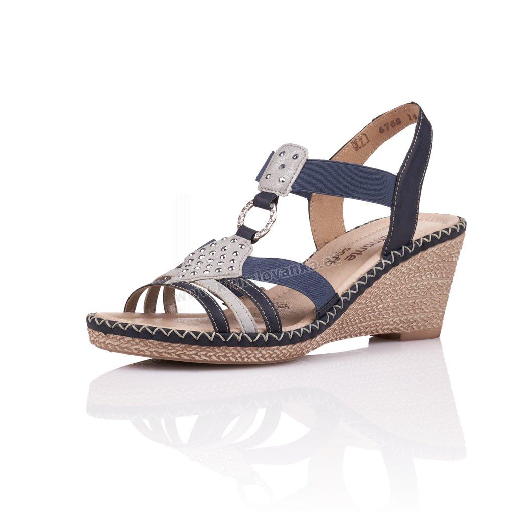 Dámské sandály REMONTE d6768-14 modré