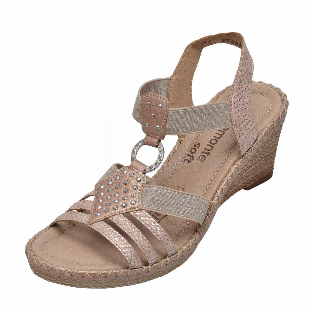 Dámská obuv  RIEKER/REMONTE D6768-31 růžová