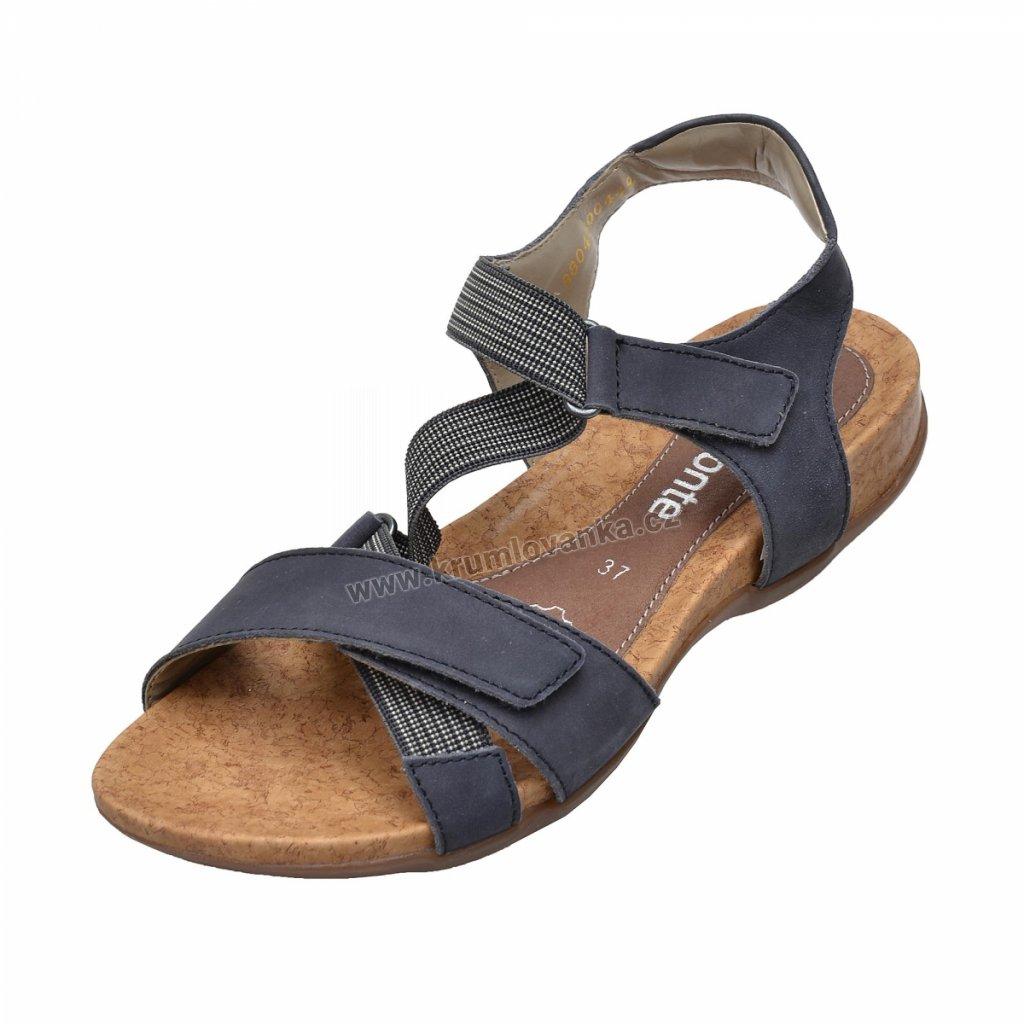 Dámské sandály REMONTE R3257-14 modrá