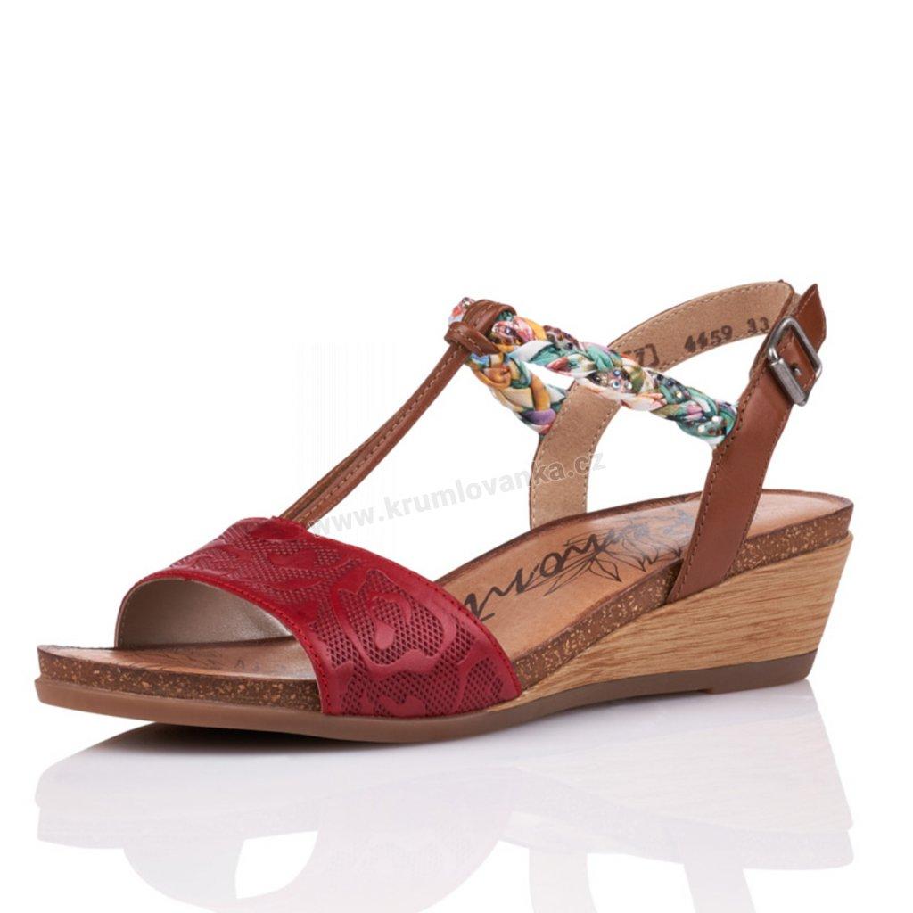 Dámské sandály REMONTE r4459-33 červené