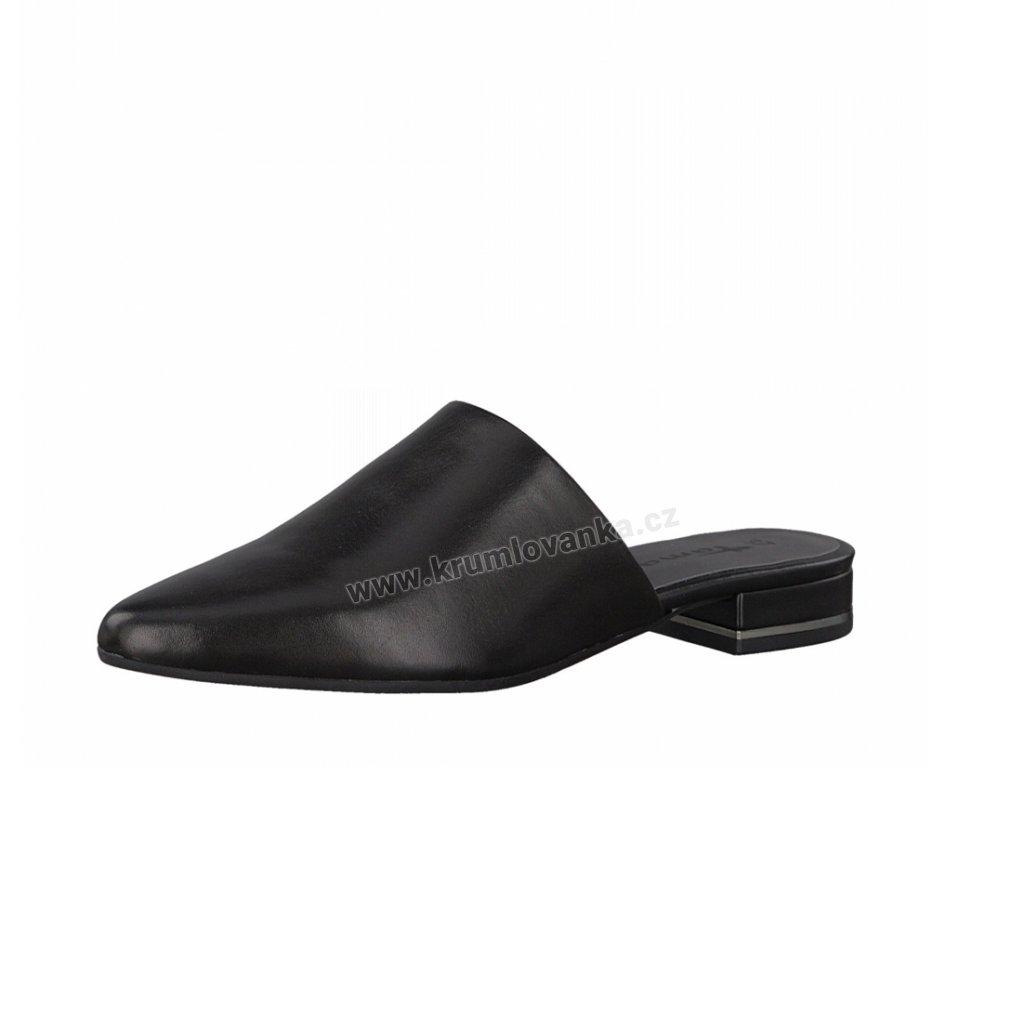 Dámské pantofle TAMARIS 1-27304-20 černé