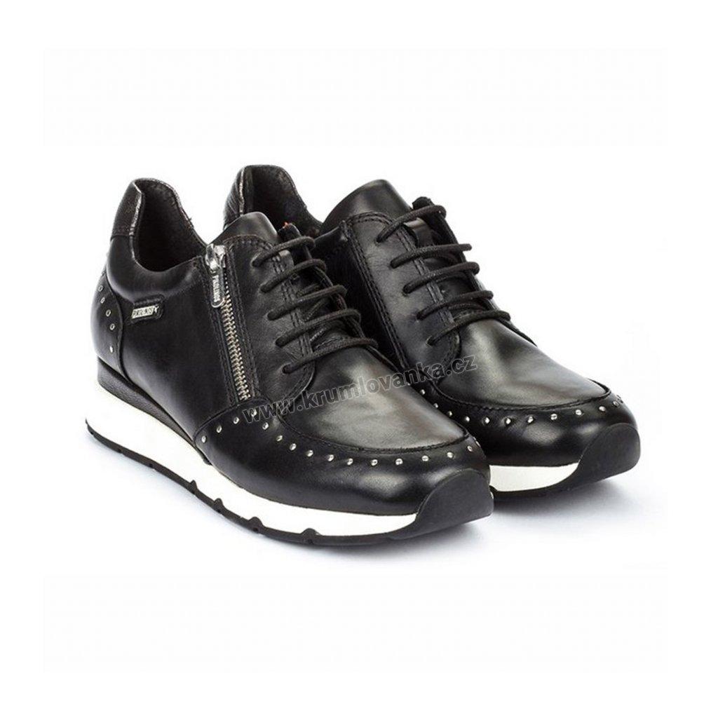 Dámské boty se zipem PIKOLINOS W0J-6750 černé