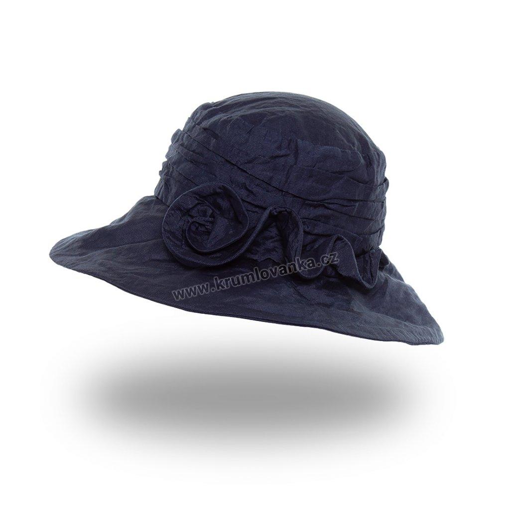 Dámský letní klobouk Krumlovanka 427005 modrý