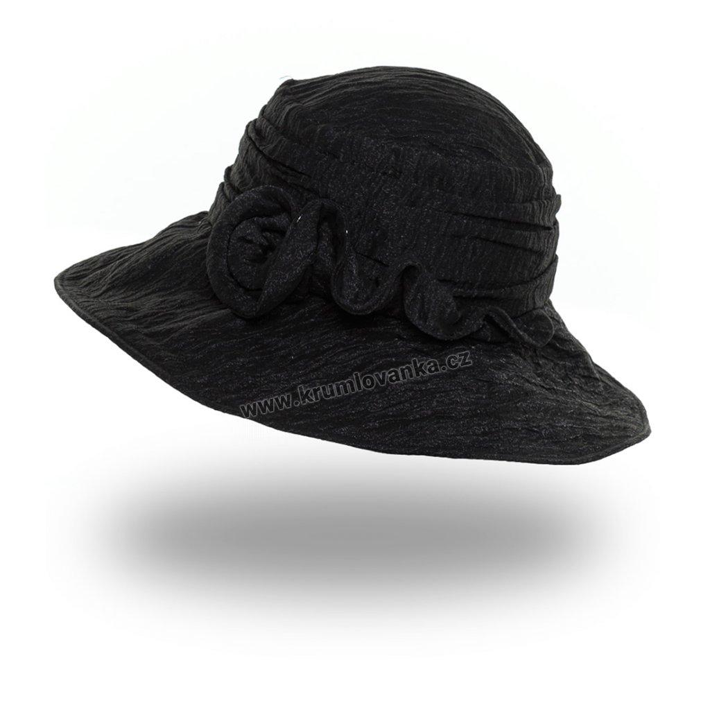 Dámský letní klobouk Krumlovanka 434591 černý