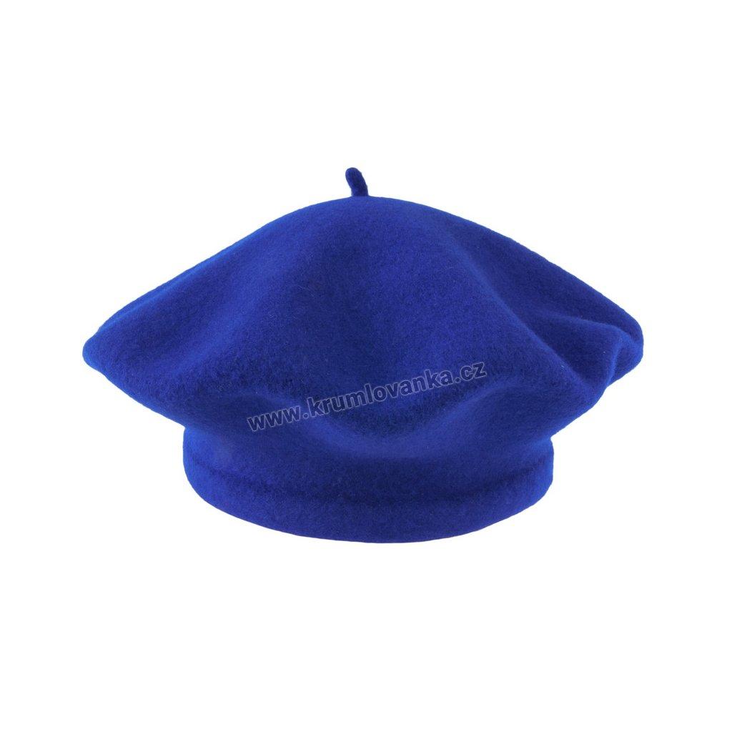 Baret Flora TONAK modrý 001_050110-11,5 (M)