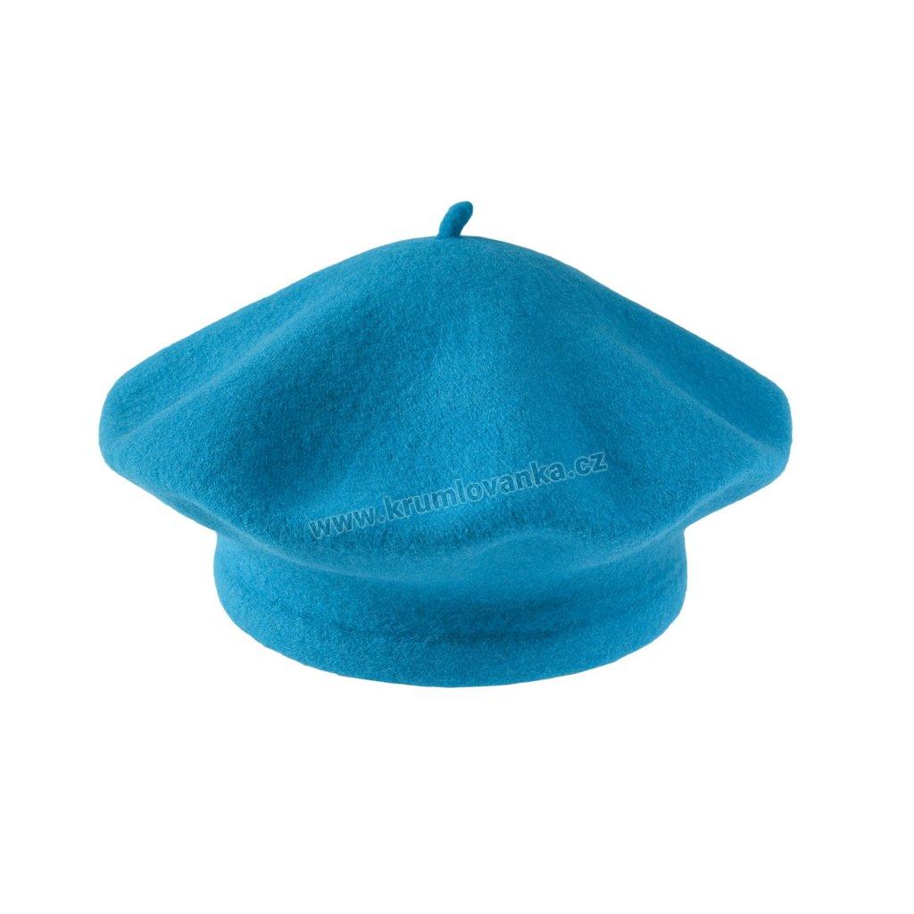 Baret Flora TONAK modrý 001_150609-11,5 (M)