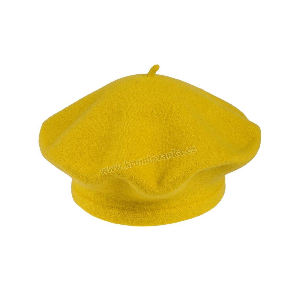 Baret Flora TONAK žlutý 001_110353-11,5 (M)