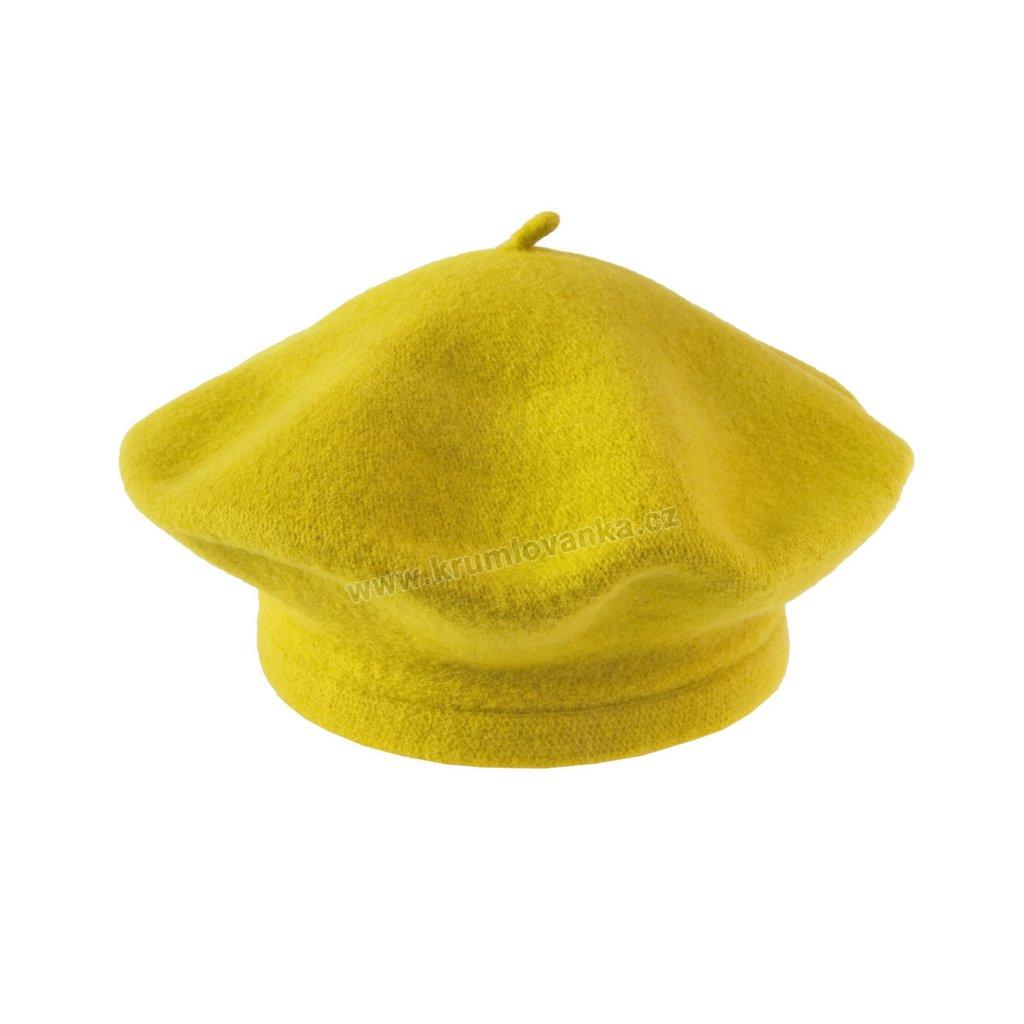 Baret Flora TONAK žlutý 001_010391-11,5 (M)