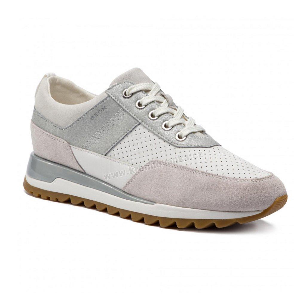 Dámské boty GEOX D84AQB bílé