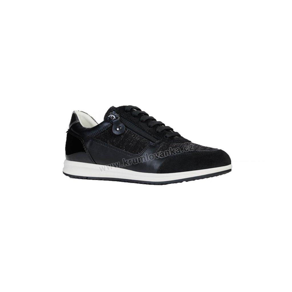 Dámské boty GEOX D74H5A černé