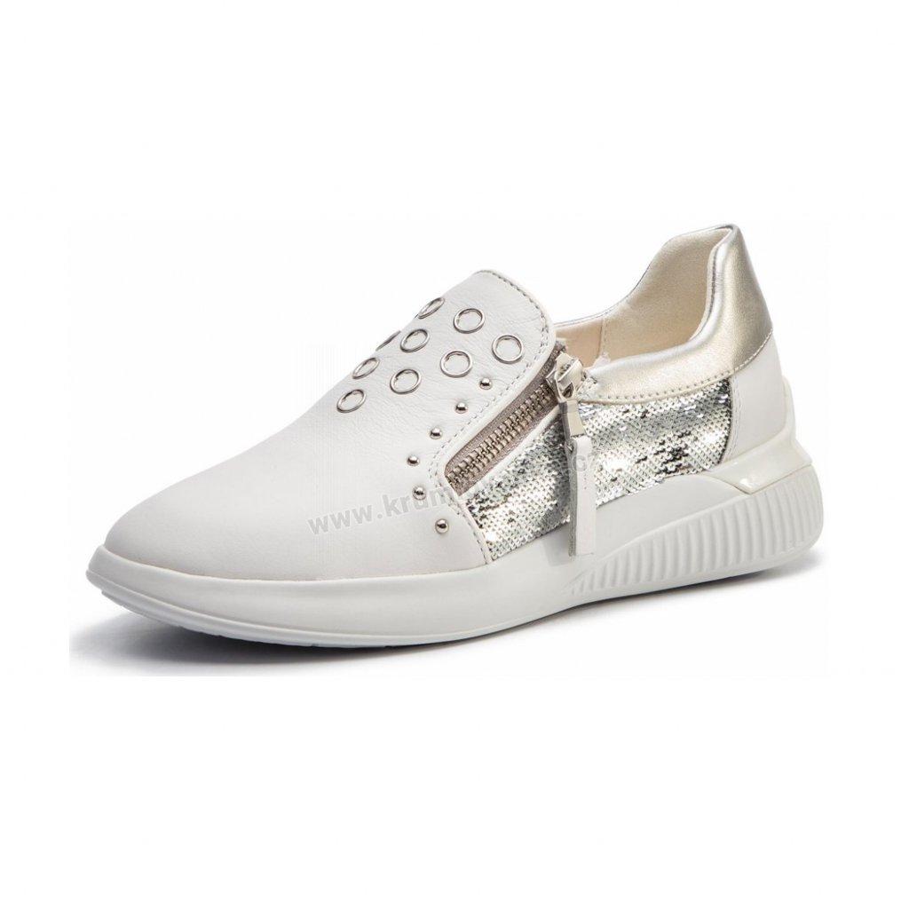 Dámské boty GEOX D928SD bílé