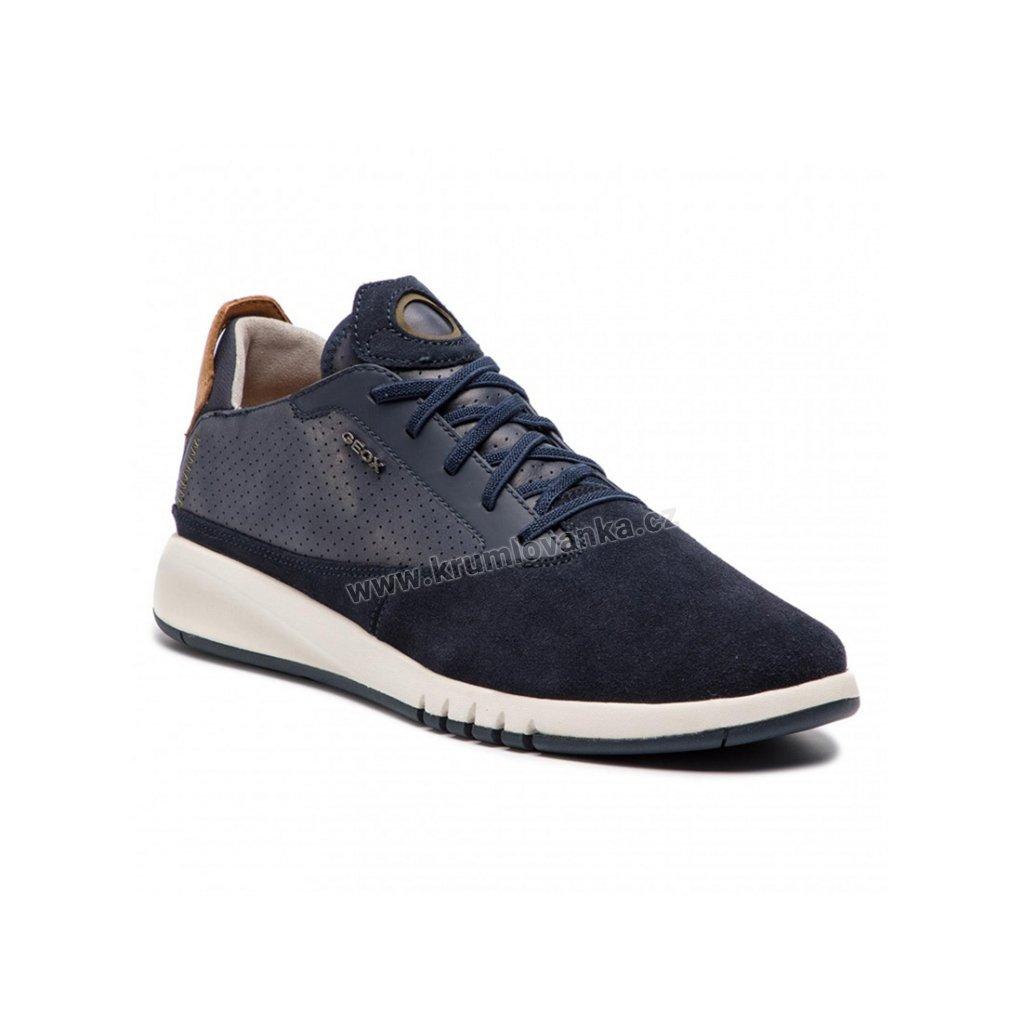 Sneakersy GEOX U927FA tmavě modré