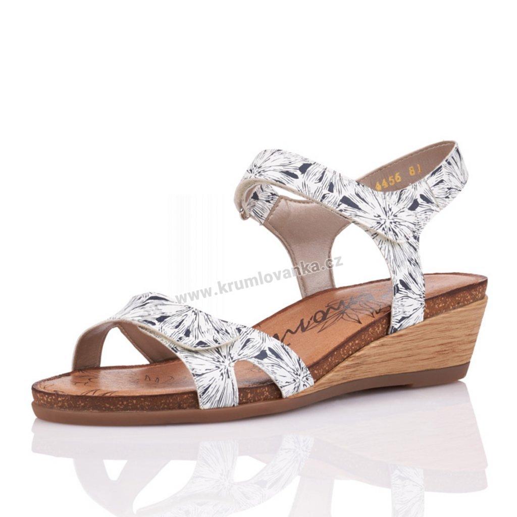 Dámské sandály REMONTE r4456-81 bílé