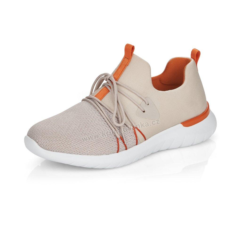 Remonte Dámská Sneakery R5700-60 béžové
