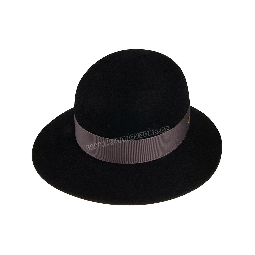 Plstěný klobouk TONAK 53646/19/Q9030 černý