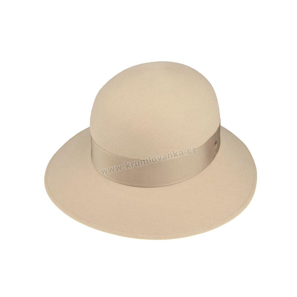 Plstěný klobouk TONAK 53646/19/Q7012 krémový