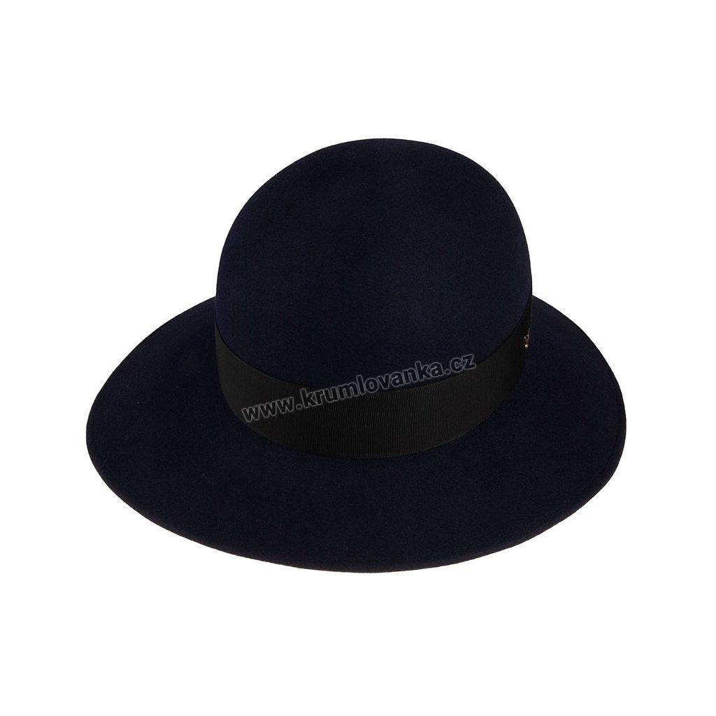 Plstěný klobouk TONAK 53646/19/Q3050 modrý