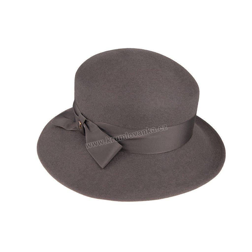 Plstěný klobouk TONAK 53710/20/Q8012 šedý