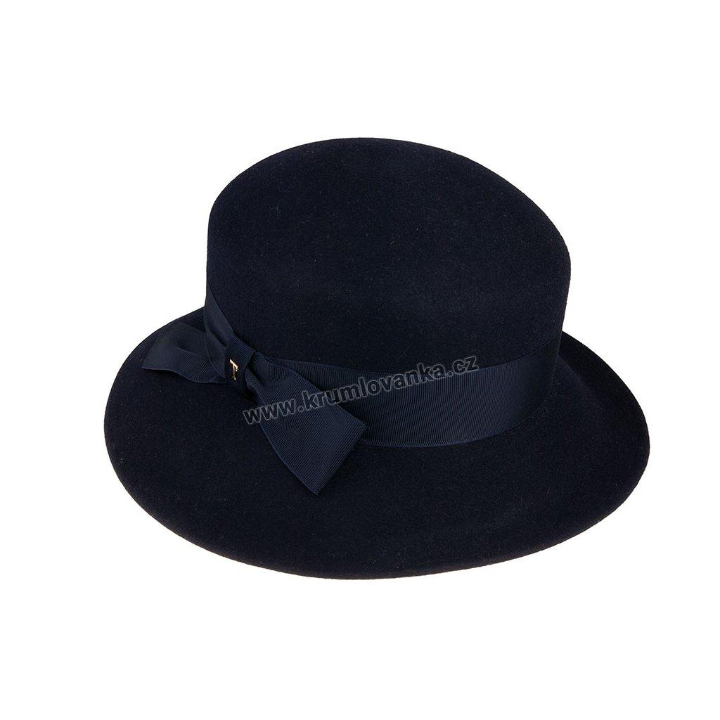 Plstěný klobouk TONAK 53710/20/Q3050 modrý
