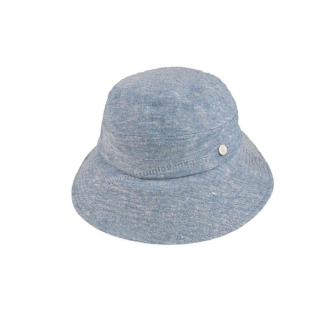 Dámský klobouček TONAK Lady Cap Base Lago 023/19 modrý