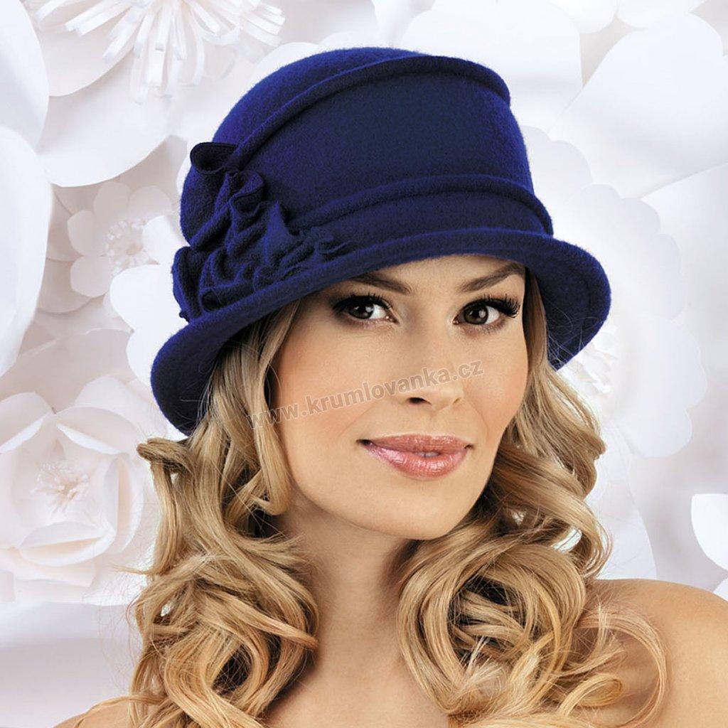 Dámská klobouk W-0075/161 tmavě modrý