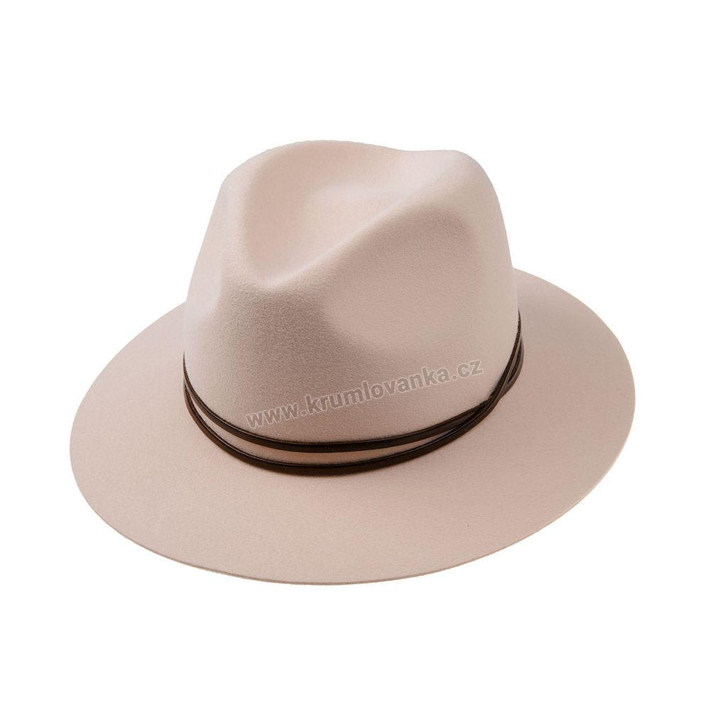 Plstěný klobouk TONAK 53558/18-Q7010 smetanový