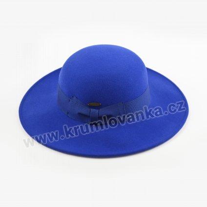 Dámský plstěný klobouk SELE modrý