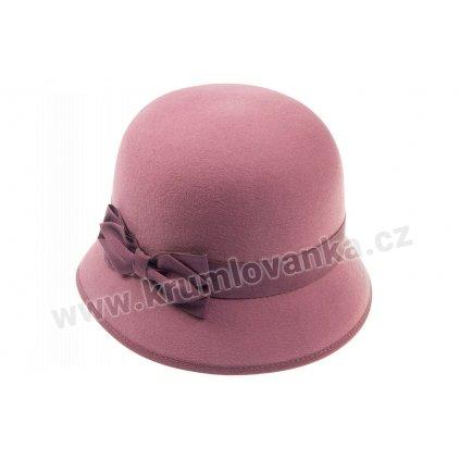 Dámský plstěný klobouk TONAK 53295/17 starorůžový Q 1022