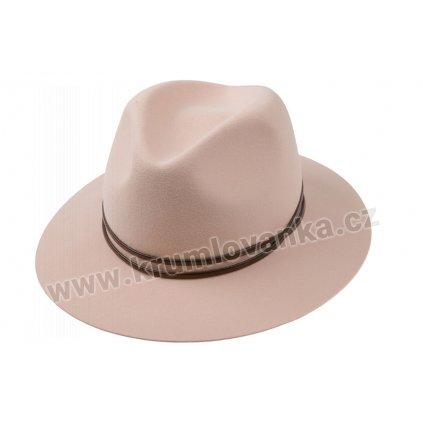 Plstěný klobouk TONAK 53558/18 růžový Q 2189