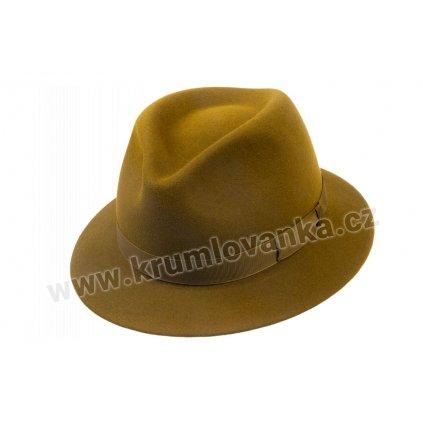 Plstěný klobouk  TONAK 12877/19 Khaki Q 5015