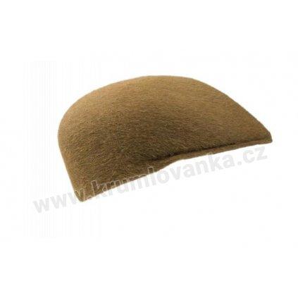 Plstěná čepice TONAK 12245/16 hnědá 1067