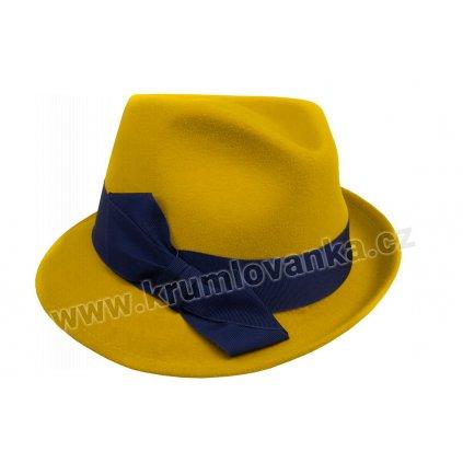 Plstěný klobouk TONAK 53623/19 žlutý Q 0009