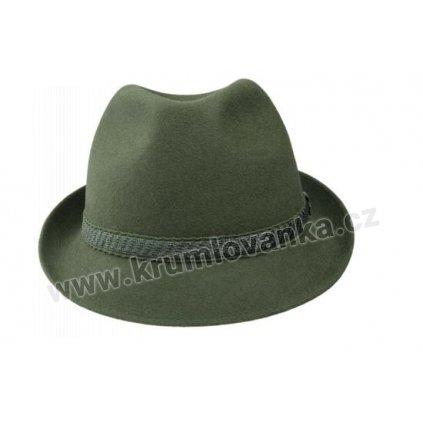 Plstěný myslivecký klobouk TONAK 100128 zelený P 0250