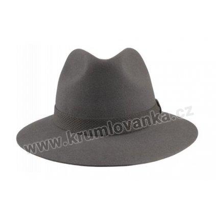 Plstěný klobouk TONAK 100031 šedý Q 8012