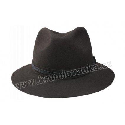 Plstěný klobouk TONAK 11904-15 hnědý  Q 6052