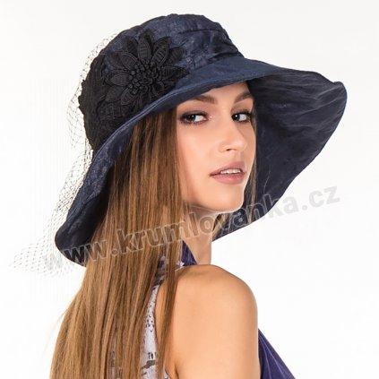 Dámský letní klobouk Krumlovanka 427012 tmavě modrý