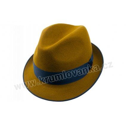 Plstěný klobouk TONAK 11376/12 hnědý Q 5015