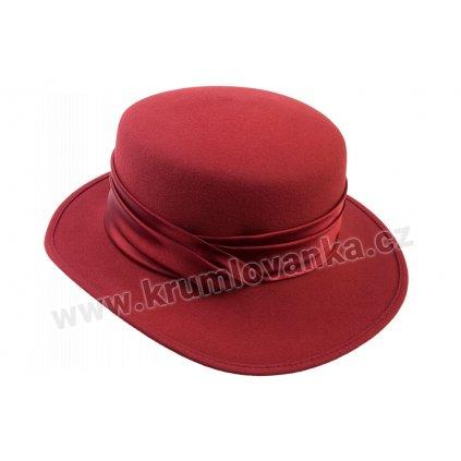 Dámský plstěný klobouk TONAK 50224/03 bordový Q 1016
