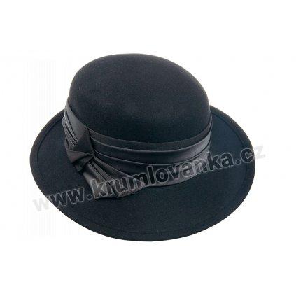 Dámský plstěný klobouk TONAK 52800/15 černý Q 9030