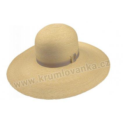 Plstěný klobouk Brim hat Alegria 35028 natural