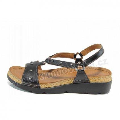 Dámské sandále IBERIUS 1243-501 černé