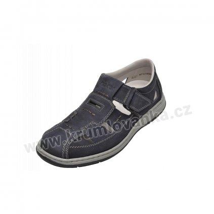 Pánské sandály RIEKER 17384-15 modré