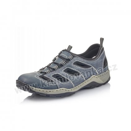 Pánské sandály RIEKER 08065-14 modré